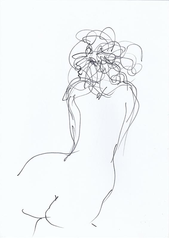 João Cutileiro - st 7 verso, sem data, 29,7x21cm, caneta sobre papel