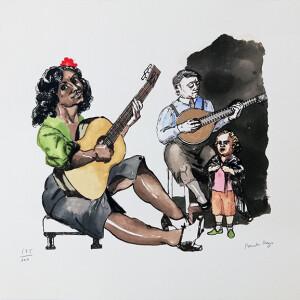 Paula Rego - Fado 175-200, 50x70cm, serigrafia s papel BD