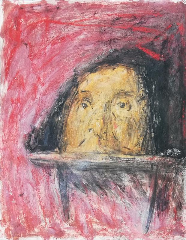 João Jacinto - St G7-116, 2017, mista s papel, 64,5x50cm BD