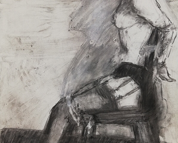 João Jacinto - St G7-119, 2015, 100x70cm, mista s papel BD