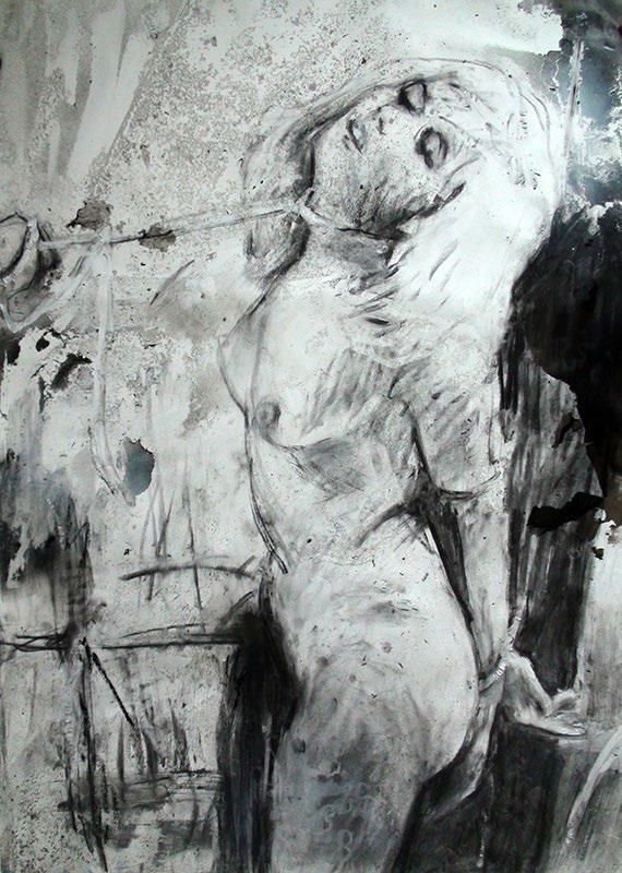 João jacinto - Sem Título, 100x70cm, 2014, mista s papel