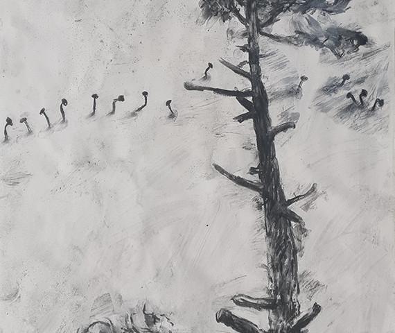 João Jacinto - st 125, sem data, 100x70 cm, mista sobre tela BD