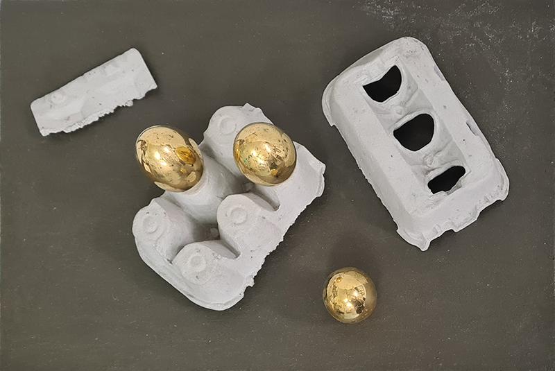 Jorge Abade, sem Título, escultura, sem data, 30,5x45x27 cm BD